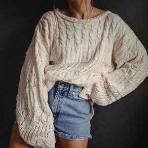 Vintage Oversized L.L. Bean Sweater